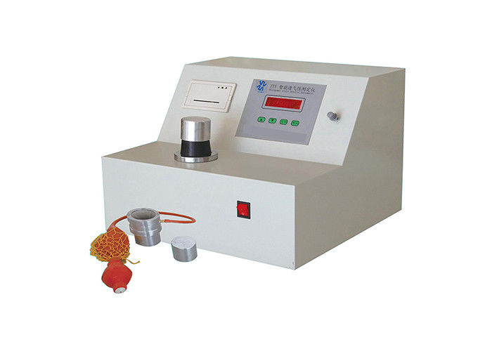 AC220V 50Hz Gas Testing Equipment , Air Permeability Test For Cement ɸ50mm*50mm Sample