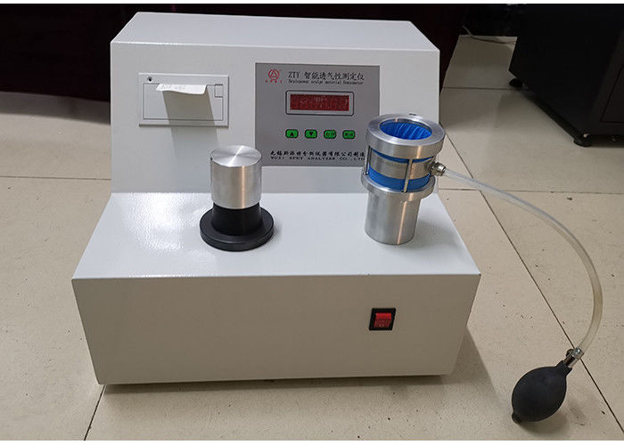 High Speed Air Permeability Test Equipment Man Machine Dialogue Interface Operation