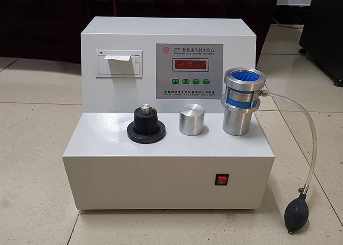 Dry Wet Air Permeability Test Equipment 0.5mm 1.5mm Air Hole Size Simple Structure