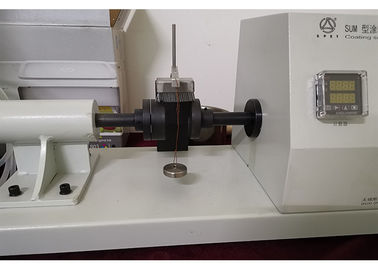 China Surface Abrasion Resistance Testing Machine 35*16 Mm Card Clothing Size distributor