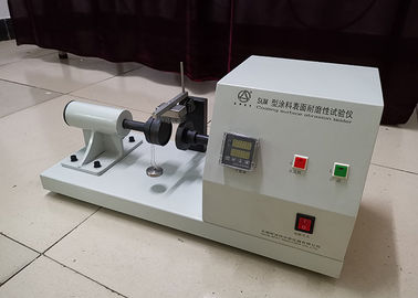 China Customized Abrasion Resistance Testing Machine 0-1300℃ Temperature Range factory